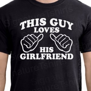 This guy loves his girlfriend